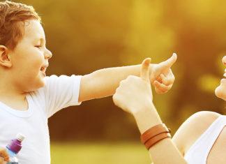 bambini meglio un abbraccio